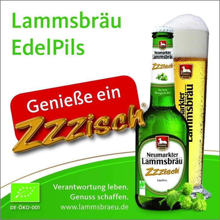Das Lammsbräu Edelpils Zzzisch